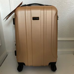 Calpak 20in expandable spinner suitcase New